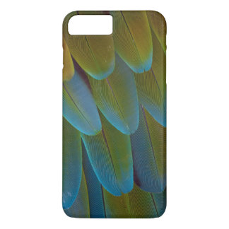 Macaw parrot feather pattern detail iPhone 8 plus/7 plus case