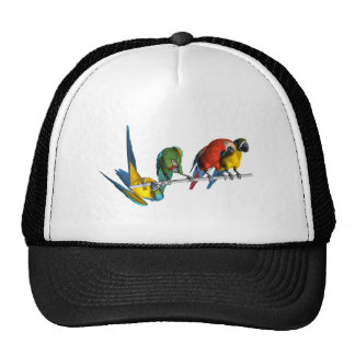 Macaw Parrot Mesh Hats
