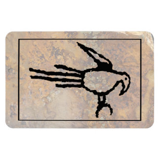 Macaw Petroglyph, Boca Negra Canyon, New Mexico Magnet