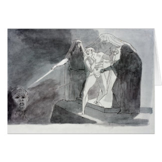 Macbeth and the Armed Head Card