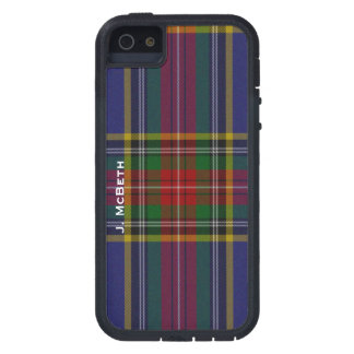 MacBeth Clan Tartan Plaid iPhone 5S Case