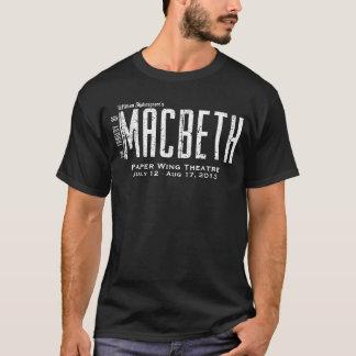 Macbeth - Paper Wing Theatre - Men's Tour Shirt