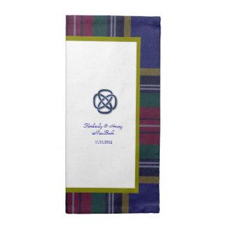 MacBeth Scottish Tartan Plaid Wedding Napkins