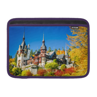 "Macbook Air 11"" Horizontal Peles castle Sinaia MacBook Sleeve"