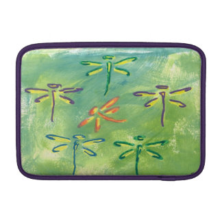 Macbook Air Colorful Dragonflies Sleeves For MacBook Air