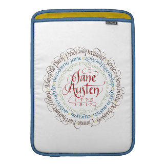 MacBook Air Laptop Case - Jane Austen Period Drama