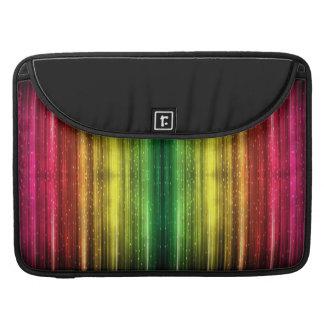 Macbook Pro spectrum and sparkly computer sleeve