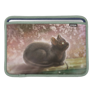 MacBook Sleeve -  Magic Black Cat