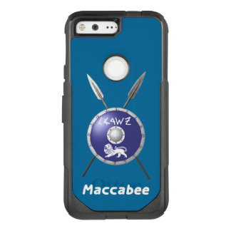 Maccabee Shield And Spears OtterBox Commuter Google Pixel Case