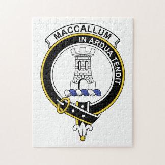 MacCallum Clan Badge Jigsaw Puzzle
