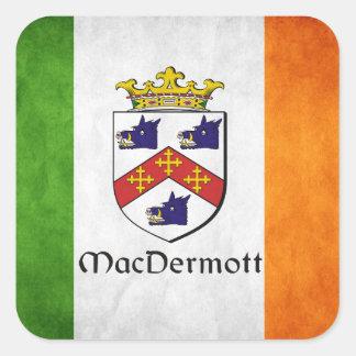 MacDermott Irish Square Sticker