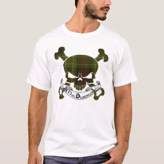 MacDiarmid Tartan Skull T-Shirt