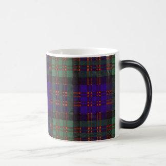 Macdonald Clan Plaid Scottish tartan Morphing Mug