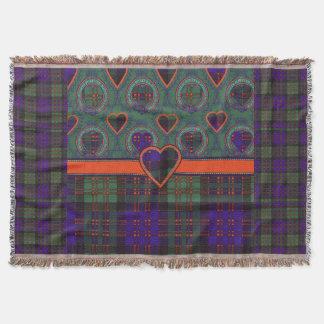 Macdonald Clan Plaid Scottish tartan Throw Blanket
