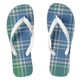 MacDonald Lord of the Isles Tartan Flip Flops
