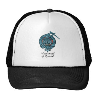 Macdonald Of Ranald Clan Crest Trucker Hat