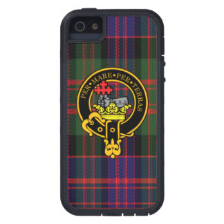 Macdonald Scottish Crest and Tartan iPhone 5/5S Cover For iPhone 5