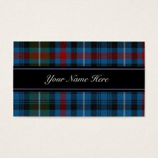 MacDonald Scottish Tartan Plaid Business Card