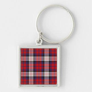 MacDonald Tartan Keychain/Key Ring