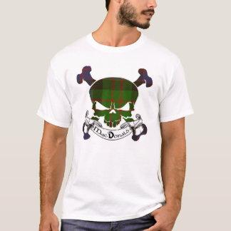 MacDonald Tartan Skull T-Shirt
