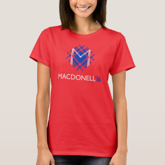 MacDonell 2016 Ladies' (Red Party) T-Shirt