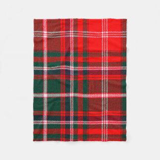MacDougall Tartan Fleece Blanket