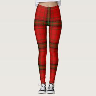 MacDougall tartan plaid Leggings