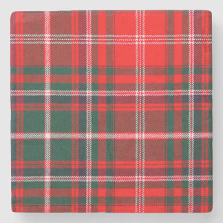 MacDougall Tartan Stone Coaster