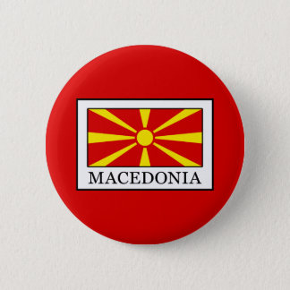 Macedonia 6 Cm Round Badge