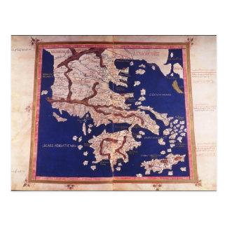 Macedonia and Greece Postcard