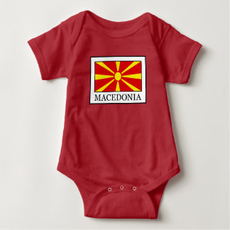Macedonia Baby Bodysuit