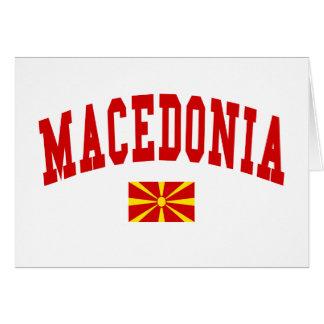 MACEDONIA CARD