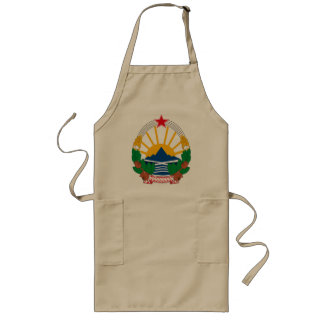 Macedonia Coat of Arms Apron