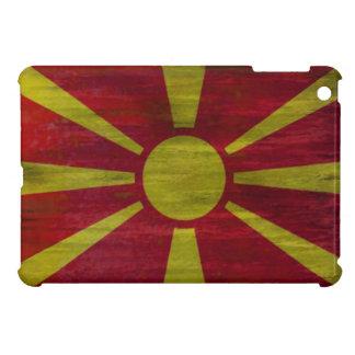 Macedonia distressed flag iPad mini cover