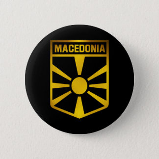 Macedonia Emblem 6 Cm Round Badge