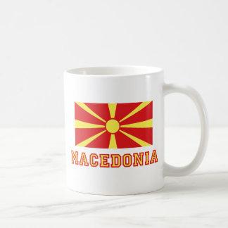 Macedonia Flag 2 Basic White Mug