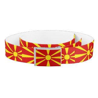 Macedonia Flag Belt