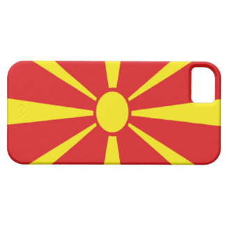 Macedonia Flag Case For iPhone 5/5S