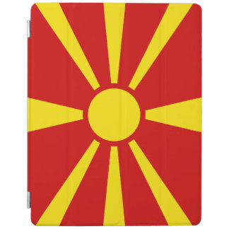 Macedonia Flag iPad Cover