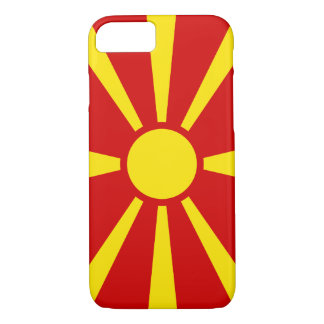 Macedonia Flag iPhone 8/7 Case