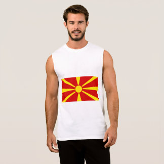 Macedonia Flag Sleeveless Shirt
