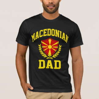 Macedonian Dad T-Shirt