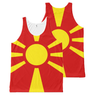 Macedonian National flag Shirt