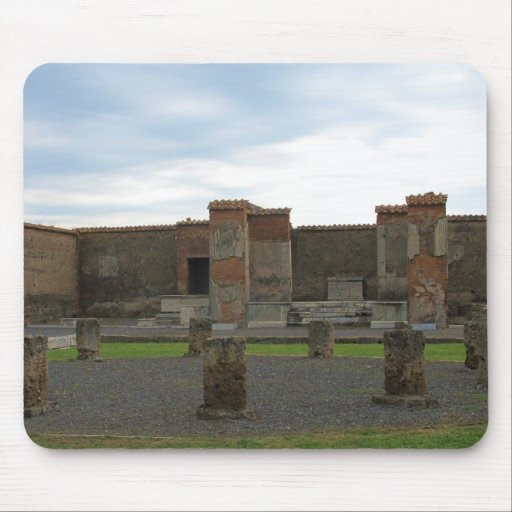 Macellum (Markets) in Ancient Pompeii Mousepad