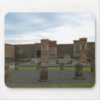 Macellum Markets in Ancient Pompeii Mousepad