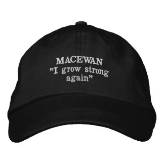 MacEwan/MacEwen Clan Motto Embroidered Hat