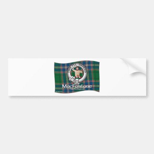MacFarlane Clan Bumper Stickers