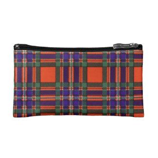 Macfarlane clan Plaid Scottish tartan Cosmetics Bags