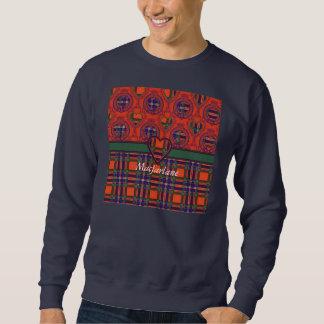 Macfarlane clan Plaid Scottish tartan Sweatshirt