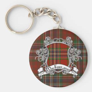 MacFarlane Tartan Shield Keychain